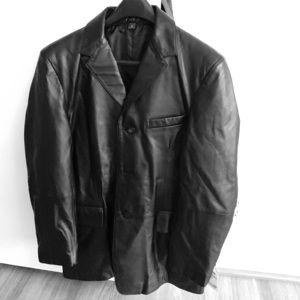 NWT Genuine Leather jacket size M